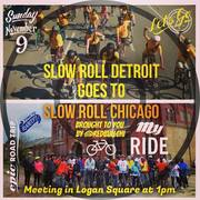 Slow Roll Detroit Goes To Slow Roll Chicago, brought to you by @redbullchi