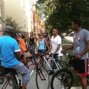 Bronzeville Artists at Home and Work Bronzeville Bikes Sunday Ride