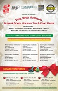 Collection Event #1... Slow & Good: Holiday Toy & Coat Drive