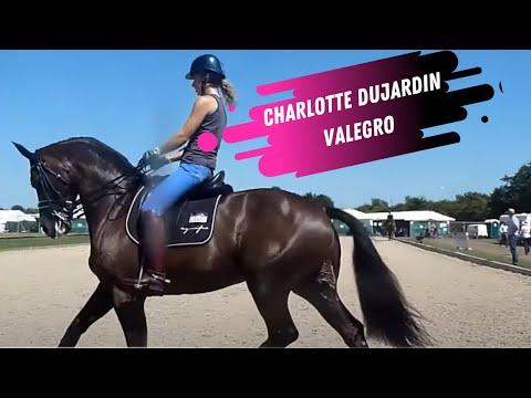 Charlotte Dujardin & Valegro Grand Prix Dressage Warm-Up
