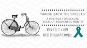 Taking Back the Streets: Bike Ride for Sexual Assault Awareness Month