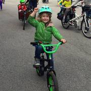 Lincoln Square Kidical Mass - It's not that cold out