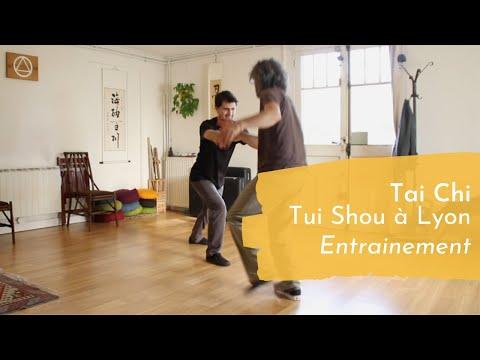Tai Chi Lyon - Tui Shou 4 (entrainement)