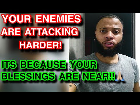 PROPHETIC WORD: Your ENEMIES are amping up their attacks... Its because your BLESSINGS ARE NEAR!