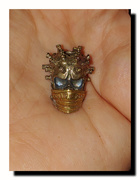 covid virus bead