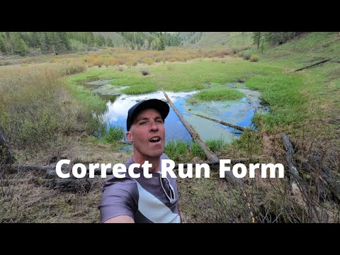 CORRECT RUN FORM: Practice this Drill