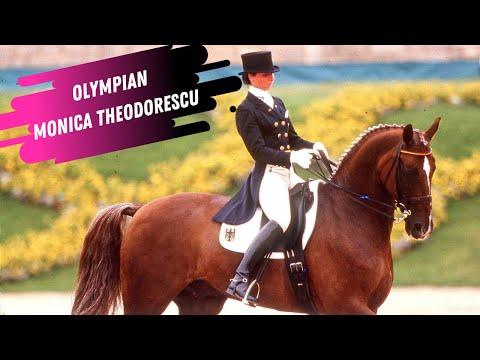 Olympian Monica Theodorescu & Grunox Grand Prix Dressage Freestyle 1996