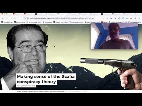 Prophetic dream of Supreme Court Judge Scalia Fulfilled #prophecyfulfilled