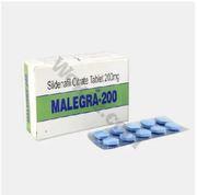 Malegra 200 Mg For ED   Upto 20% Off   Sildenafil   Review   Wokaz