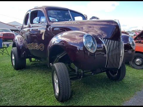 Classic Car Shopping At the 2021 Fall Carlisle Car Corral Buick Sedanet, IH, and '40 Gasser Video 9