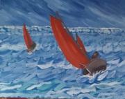 Race in rough seas