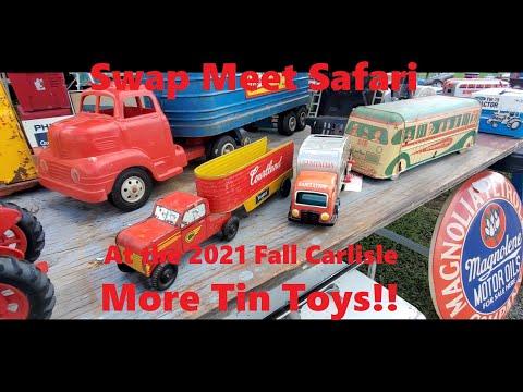 Swap Meet Safari At the Fall Carlisle Swap Meet Toy Cars & Early Japanese Trucks  Video 10