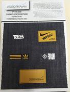 Etiquetas em TPU para Jeans
