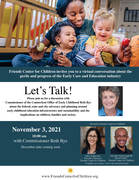 Let's Talk with OEC Commissioner Beth Bye: November 3rd at 10am
