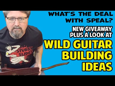 Wild Guitar Making Ideas + A New Instrument Giveaway:  What's the Deal with Speal