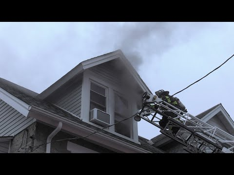 2ND ALARM: Catasauqua FD responds to house fire at 317 Liberty Street