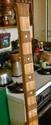 Neck of Lyons/Lynas guitar