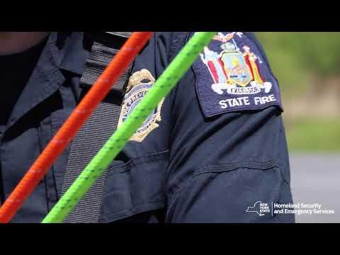 New York Task Force-2 Crane Rescue Training