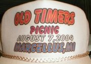 2004 OLD TIMERS RADIO PICNIC  hat