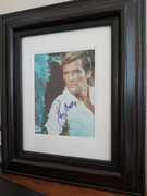 Sir Roger Moore 8x10 Framed