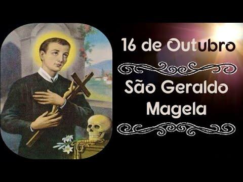 🔵 São Geraldo Magela - ( 16/10 ) - O Santo do Dia com Padre Alex Nogueira