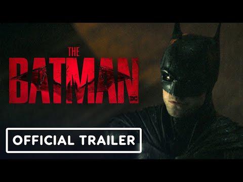 The Batman - Official Trailer #2 (2022) Robert Pattinson, Zoe Kravitz   DC FanDome 2021
