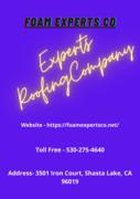 Roofer Redding Contractor | Foam Experts Co.