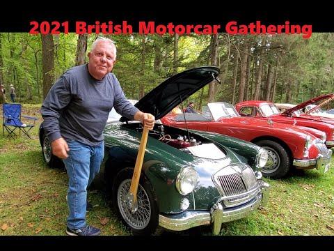 British Motorcar Gathering 2021 Keystone Region MG Car Club  MG