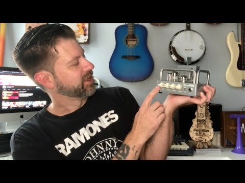 Wangs Mini 5 Tube Guitar Head: Unboxing & Demo