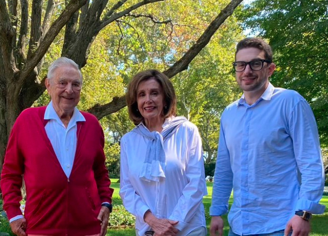 Nancy with her masters.