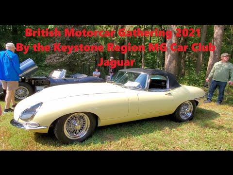 British Motorcar Gathering 2021 By the Keystone Region MG Car Club  Jaguar