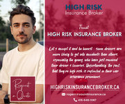 Get in touch with us today for High Risk Car Insurance Broker Ontario