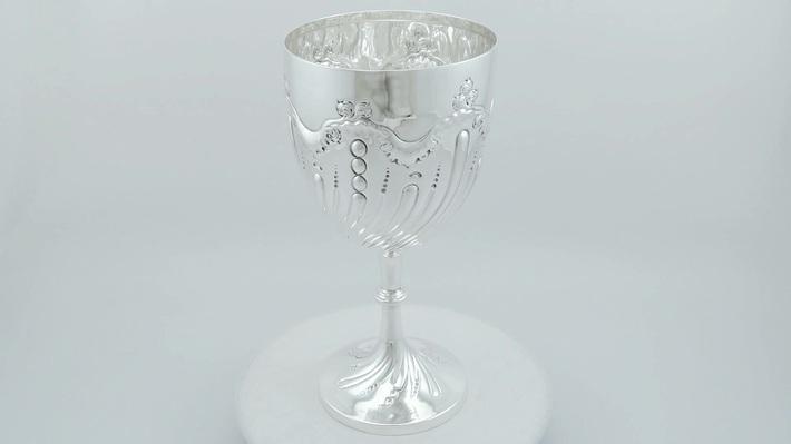 Sterling Silver Presentation Cup - Antique Edwardian (1905)