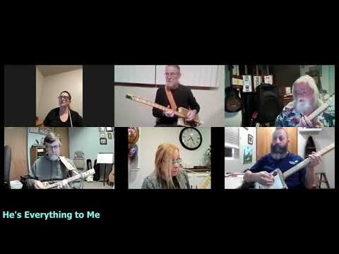 He's Everything to Me: Long Neck Surf n' Turf Cigar Box Guitar