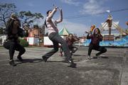 Jaguar danza acción /Trayectorias convergentes
