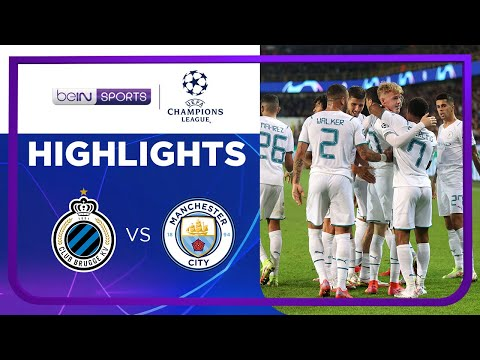 คลับ บรูซ 1-5 แมนเชสเตอร์ ซิตี้ | ยูฟ่า แชมเปี้ยนส์ ลีก ไฮไลต์ Champions League 21/22