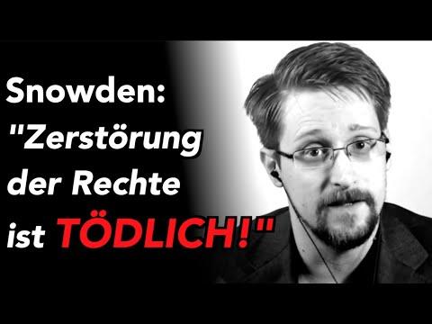 """Corona-Krise - Snowden warnt: """"Zerstörung der Rechte ist TÖDLICH!"""""""