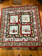 Quilt #175 - Red Truck Christmas
