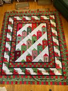 Quilt #176 - Boots of Steck Street, Christmas 2021