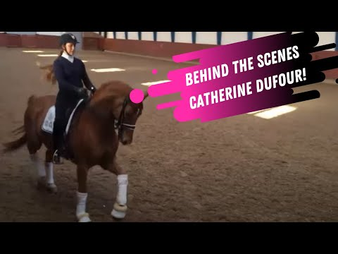 Behind The Scenes: Catherine Dufour & Cassidy Training