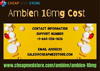 Buy Ambien 10mg: Get Rid Of Sleep Disorder