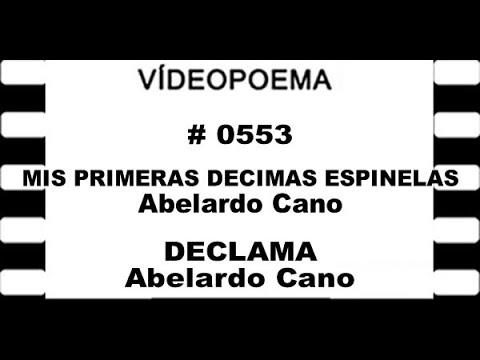 0553 21 09 14 MISP PRIMERAS DÉCIMAS ESPINELAS   Abelardo Cano