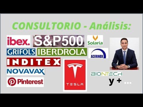 Análisis TESLA Solaria, GRIFOLS, Iberdrola, NOVAVAX, Pinterest, BIONTECH y +