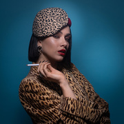 Photographed for Elliotts Millinery