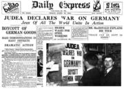 Judea Declares War on Germany1933