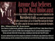 False witnesses were used at most of the Allied war-crimes trials,Holohoax