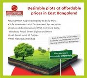 Plots for sale in Bangalore Karnataka