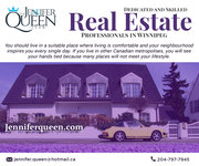 The Jennifer Queen team has been rated year after year as Winnipeg Best Realtor