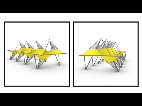 Mirrored Tensile Structure