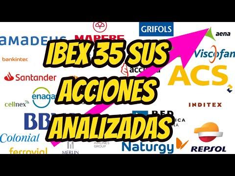IBEX 35 ANALISIS TECNICO DE SUS ACCIONES